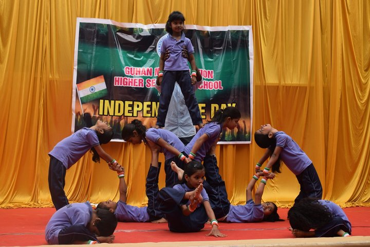Guhan Matriculation Higher Secondary School-Independence Day