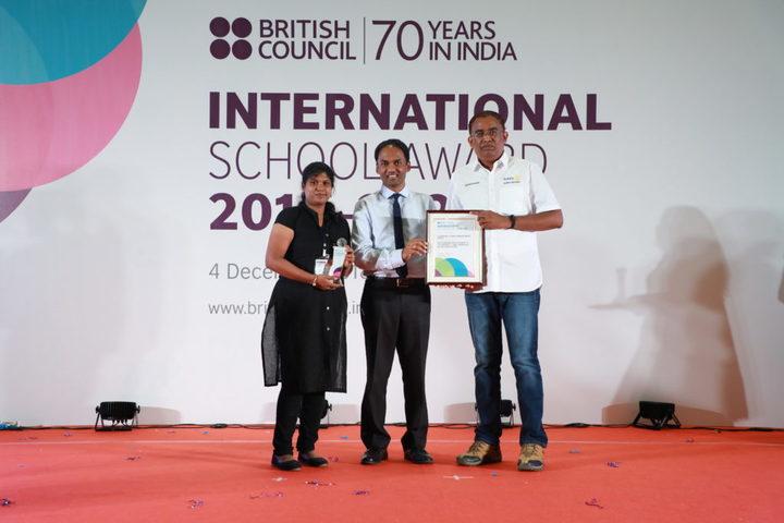Guhan Matriculation Higher Secondary School-International School Award