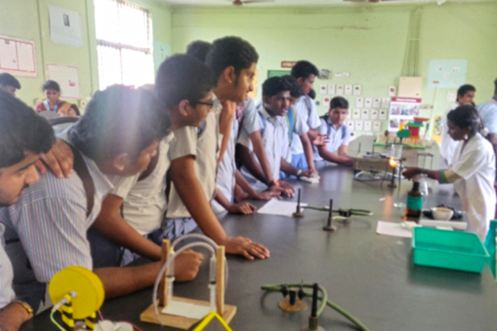 TI Matriculation Higher Secondary School-Chemistry-Lab