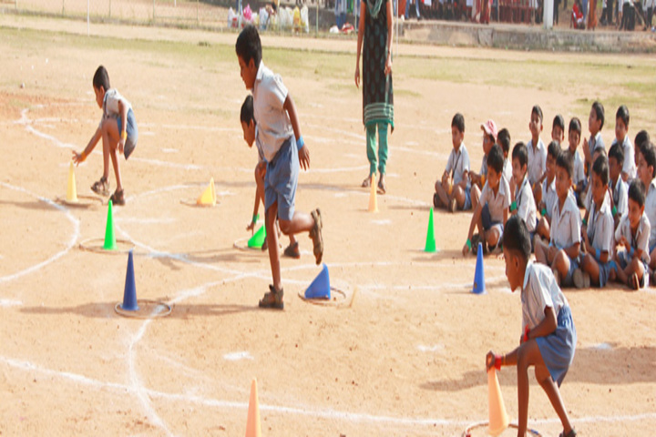 TI Matriculation Higher Secondary School-Games