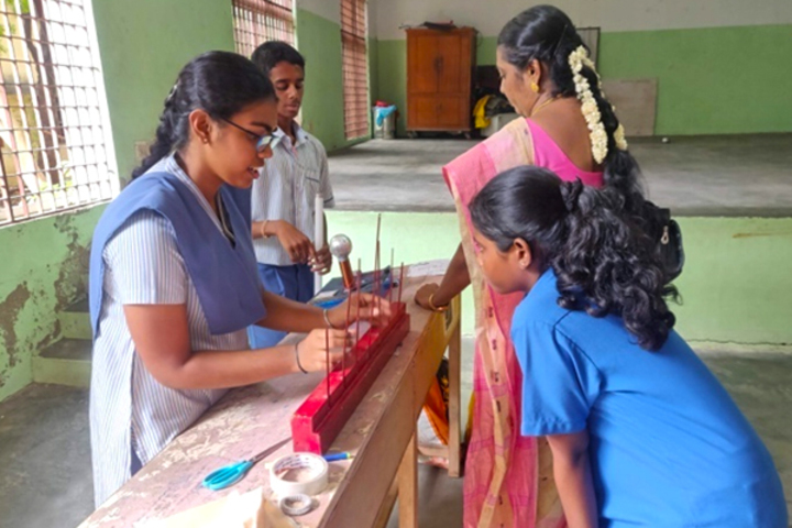 TI Matriculation Higher Secondary School-Physics-Lab