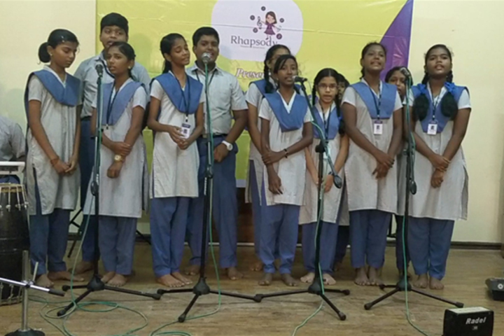 TI Matriculation Higher Secondary School-Singing