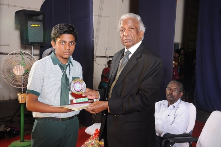 The Wesleys Matriculation Higher Secondary School-Award