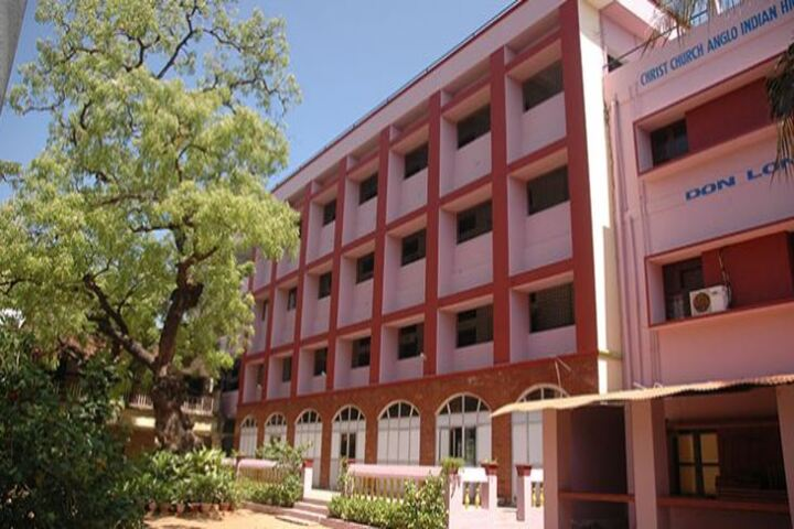 Christ Church Anglo Indian Higher Secondary School-Campus View