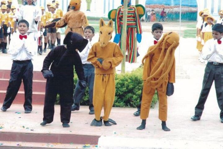Christ Church Anglo Indian Higher Secondary School-Fancy Dress