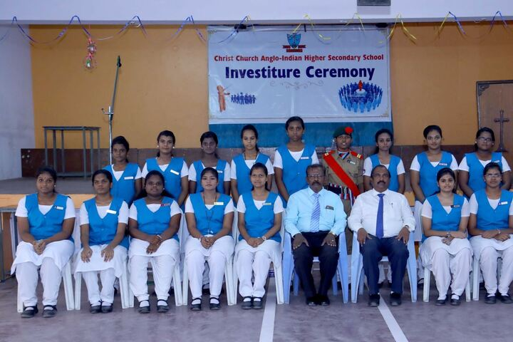 Christ Church Anglo Indian Higher Secondary School-Investiture Ceremony