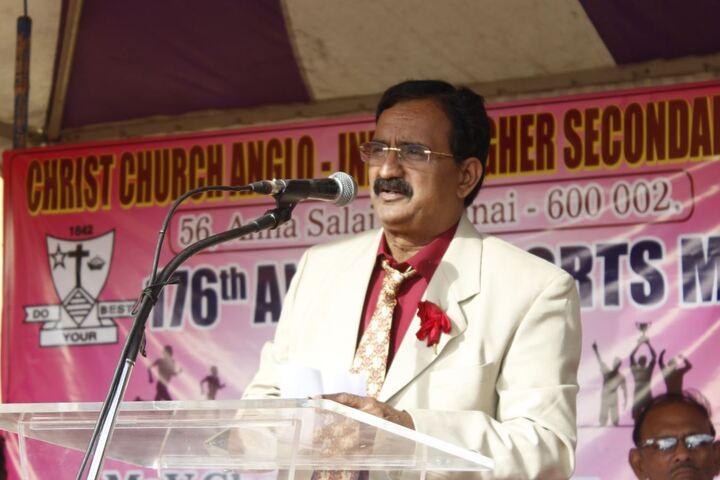 Christ Church Anglo Indian Higher Secondary School-Speech
