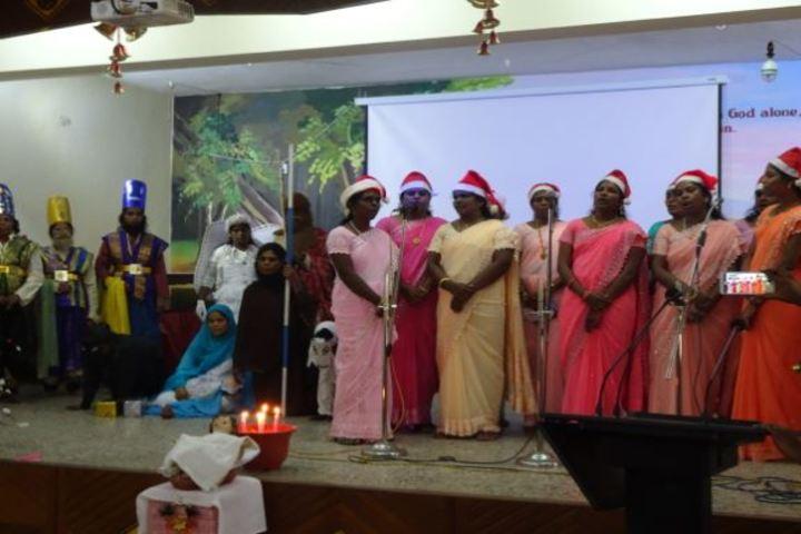 Christ King Girls Higher Secondary School-Singing