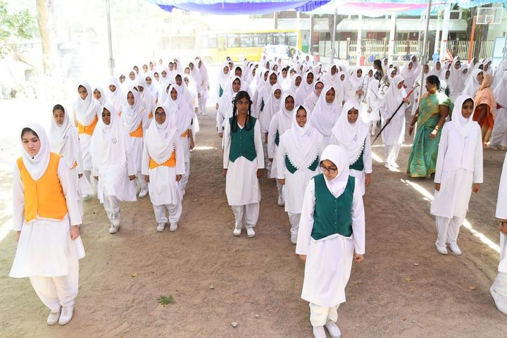 Crescent Matriculation Higher Secondary School for Girls-Assembly