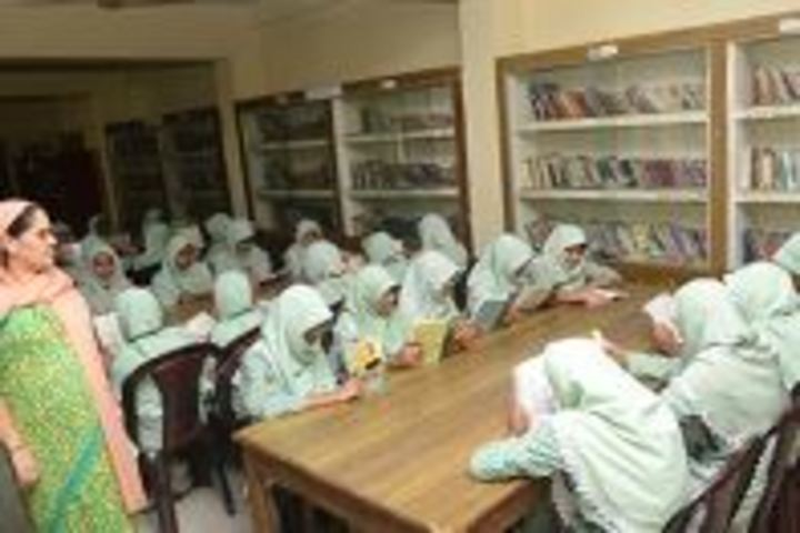 Crescent Matriculation Higher Secondary School for Girls-Library