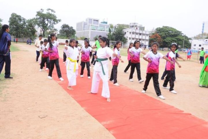 CSI Ewart Matriculation Higher Secondary School-Karate