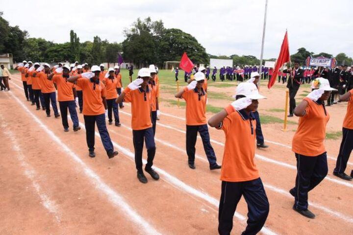 CSI Ewart Matriculation Higher Secondary School-March Past