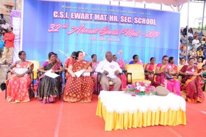 CSI Ewart Matriculation Higher Secondary School-Sports Meet