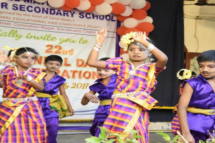 Daniel Matriculation Higher Secondary School-Folk Dance