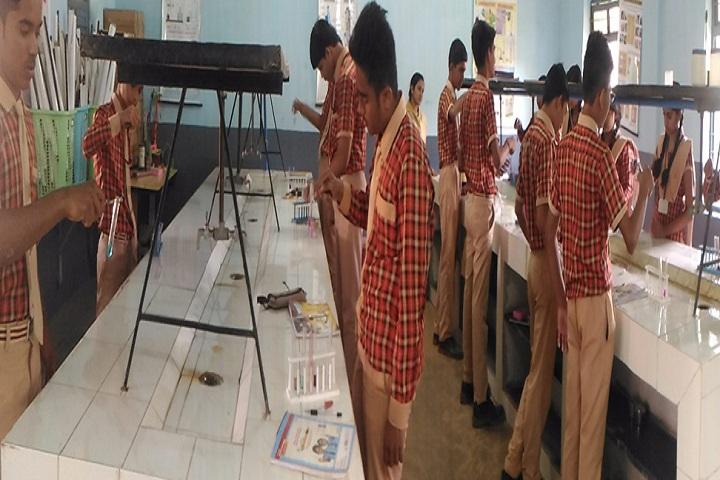 J M J Navjeevan Convent School-Chemistry-Lab