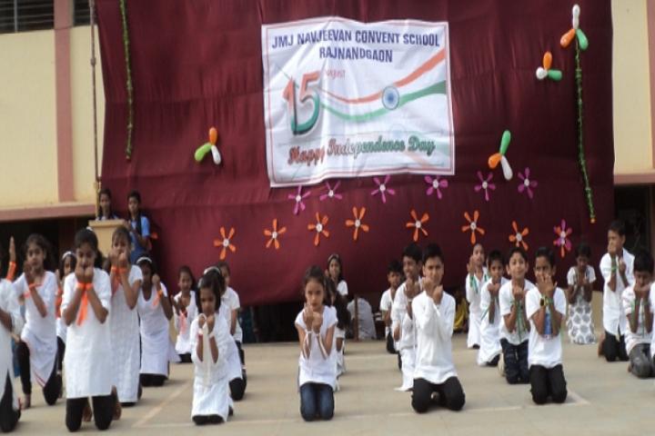 J M J Navjeevan Convent School-Independence-Day