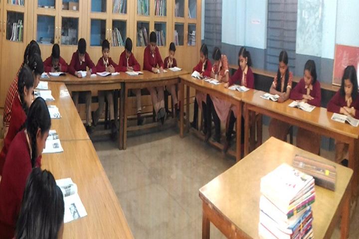J M J Navjeevan Convent School-Library