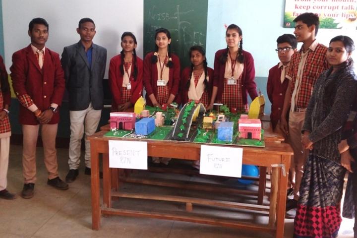 J M J Navjeevan Convent School-Science-Exhibition