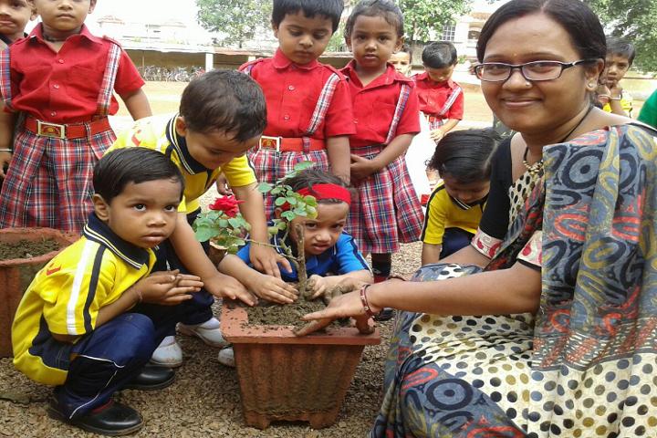 J M J Navjeevan Convent School-Tree-Plantation