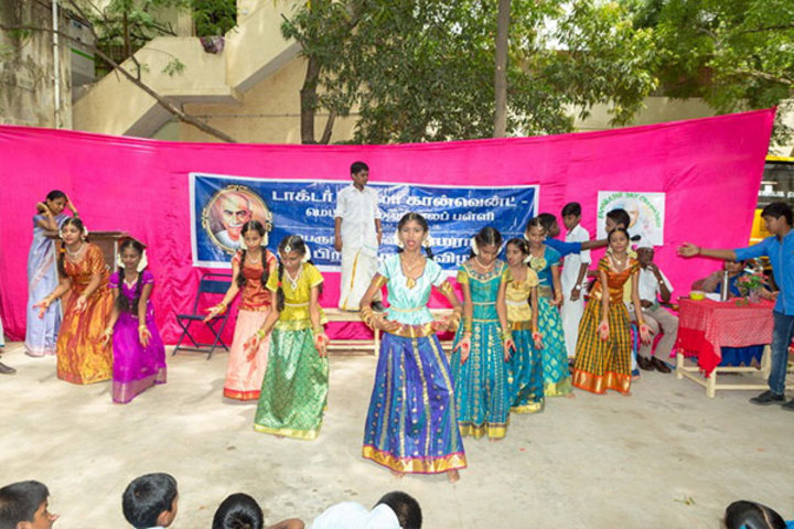 Dr Vimala Convent Matriculation High Secondary School-Kamaraj Day