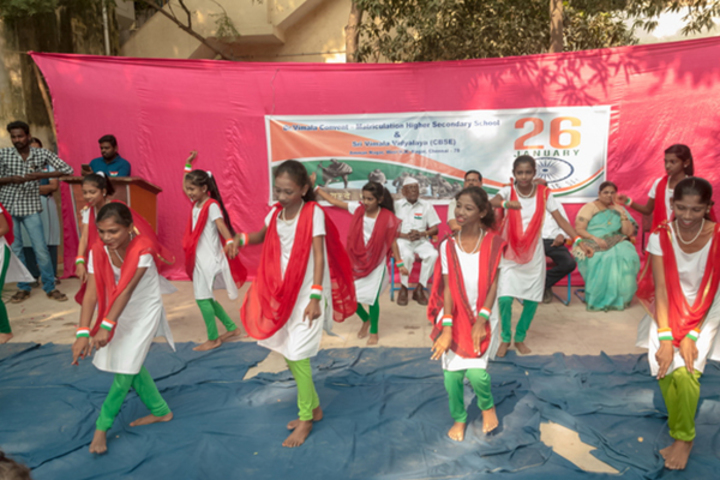 Dr Vimala Convent Matriculation High Secondary School-Republic Day