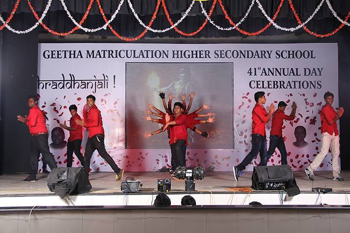 Geetha Matriculation Higher Secondary School-Annual Day