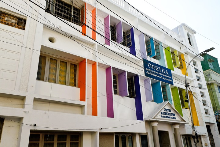 Geetha Matriculation Higher Secondary School-Campus View
