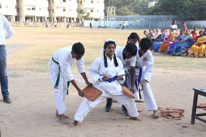Geetha Matriculation Higher Secondary School-Karate