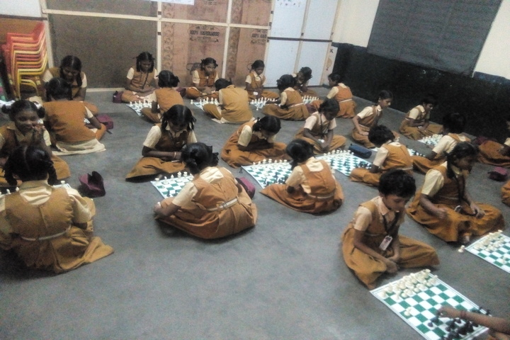 PMR Higher Secondary School-Chess Competition