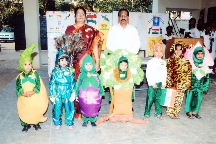 PMR Higher Secondary School-Fancy Dress Competition