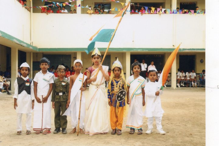 PMR Higher Secondary School-Independence Day