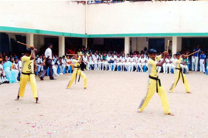 PMR Higher Secondary School-Karate