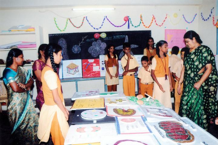 PMR Higher Secondary School-School Exhibition