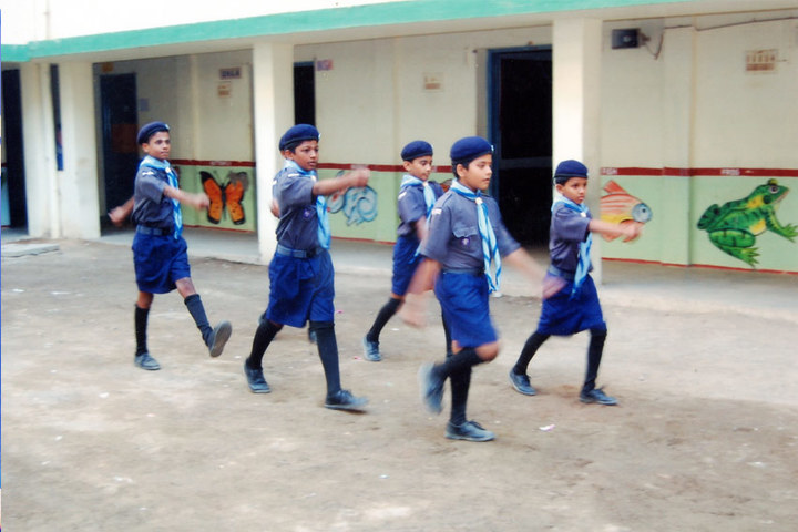 PMR Higher Secondary School-Scouts and Guide