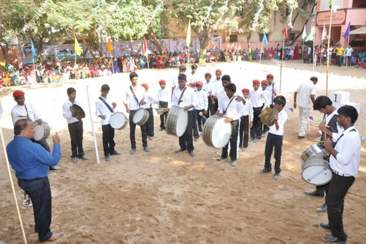 PNECT Kamaraj Matriculation Higher Secondary School-Band Troop