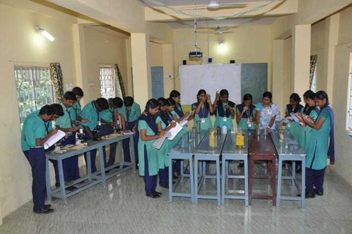 PNECT Kamaraj Matriculation Higher Secondary School-Biology Lab