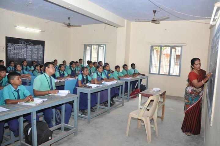 PNECT Kamaraj Matriculation Higher Secondary School-Classroom