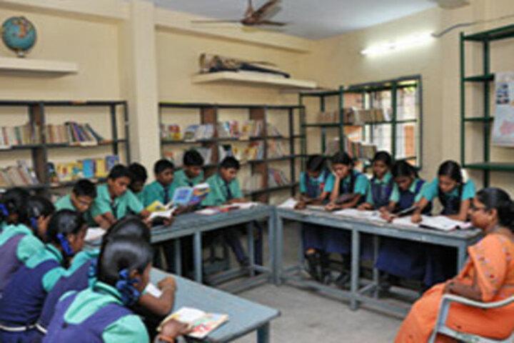 PNECT Kamaraj Matriculation Higher Secondary School-Library