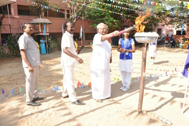 PNECT Kamaraj Matriculation Higher Secondary School-Sports Day