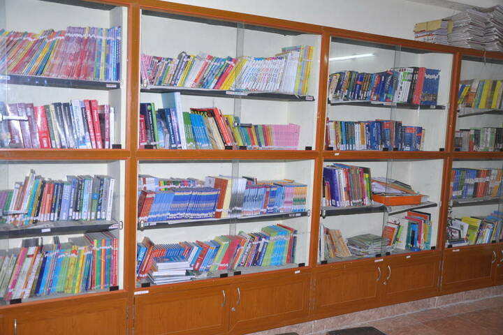 Prince Matriculation Higher Secondary School-Library