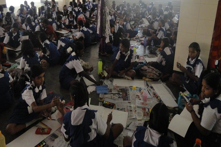 Rosary Matriculation Higher Secondary School-Art Room