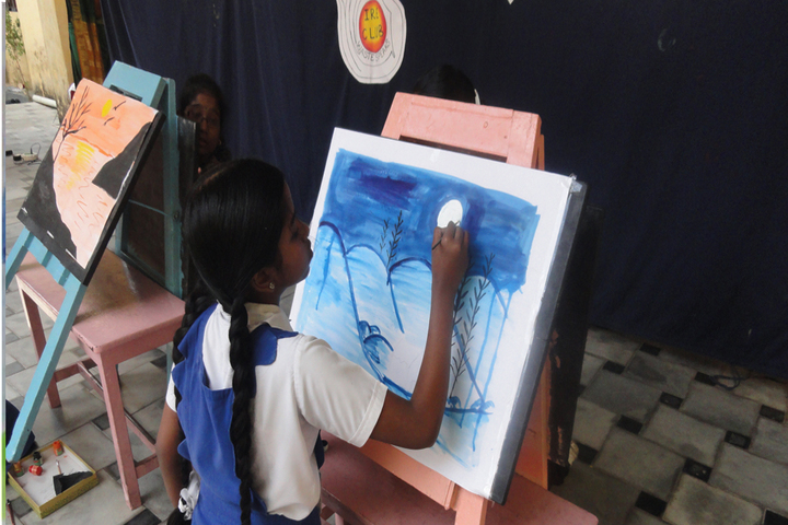 Rosary Matriculation Higher Secondary School-Painting Competition