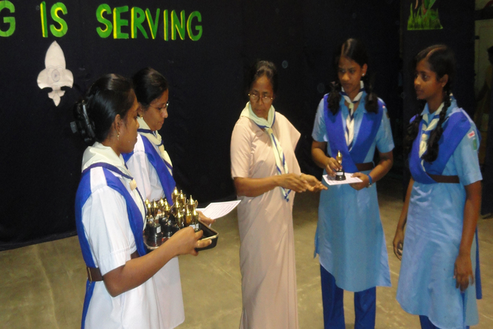 Rosary Matriculation Higher Secondary School-Prize Distribution