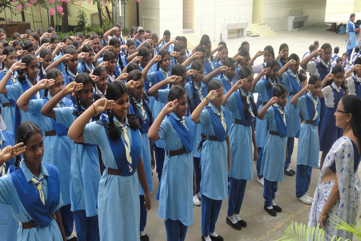 Rosary Matriculation Higher Secondary School-Scouts and Guide
