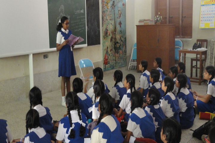 Rosary Matriculation Higher Secondary School-Story Telling