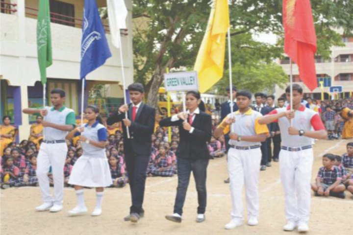 Green Valley Matriculation School-Annual Sports Day