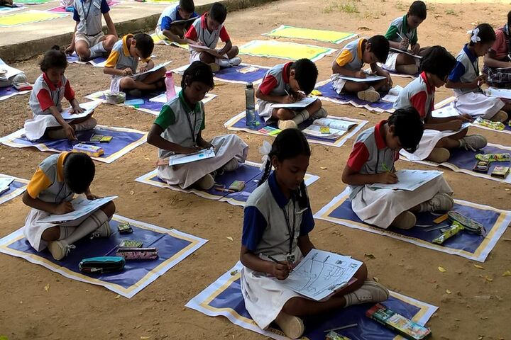 Green Valley Matriculation School-Drawing Competition