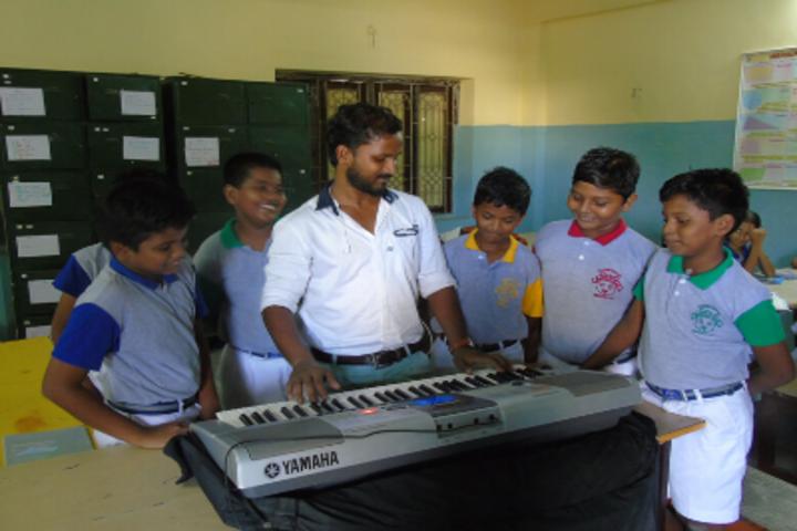 Green Valley Matriculation School-Music Room