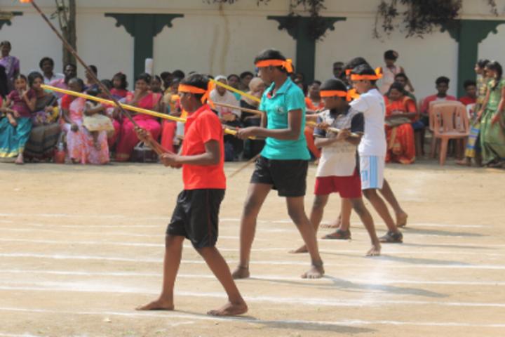Green Valley Matriculation School-Sports Day