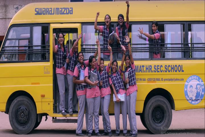 Green Valley Matriculation School-Transport